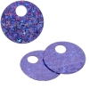 Sequins Hologram 20mm 4mm Hole Round Lilac